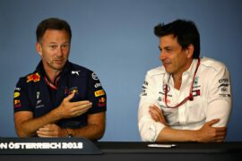 Wolff dismissed Horner's recent teasing best driver comments