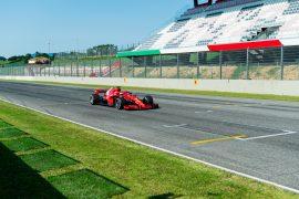 Vettel & Leclerc tested Ferrari at Mugello