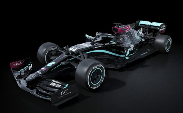 Mercedes changes car 2020 livery after changed world