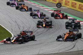 2020 Austrian F1 GP Animated Timelapse
