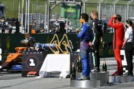 2020 Austrian Grand Prix Race Results