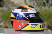 2006 Juan Pablo Montoya helmet