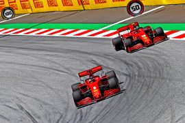 Leclerc's girlfriend predicts future for Vettel