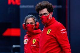 Ferrari's Binotto has 'support of my bosses'