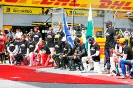 Hamilton hits out at Ferrari over racial politics