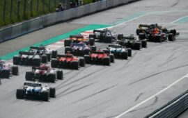 2020 Styrian F1 GP Animated Timelapse