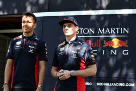 Verstappen & Albon British Grand Prix Preview