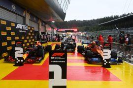 Starting Grid 2020 Styrian Grand Prix