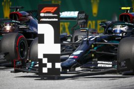 Starting Grid 2020 Austrian Grand Prix