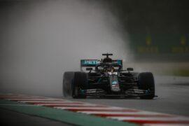 Hamilton VS Verstappen Styrian GP onboard quali wet lap