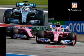Mercedes W10 VS Racing Point RP20