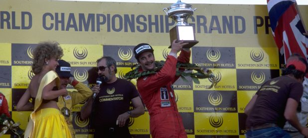 1985 South African grand prix: f1 race winner, podium & results