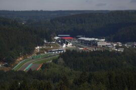 F1 Starting Grid 2020 Belgian GP Race at Spa-Francorchamps