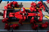 Binotto denies Ferrari to test new parts on Wednesday