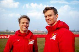 Schumacher & Ilott get new debut at Abu Dhabi