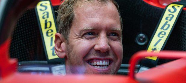 Vettel 'much more positive' as Ferrari tenure ends