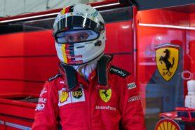 Vettel plays down Lawrence Stroll 'elbow bump'