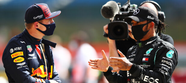 Father Verstappen hopes his son will become Hamilton's teammate soon