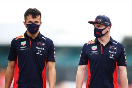 Not On The Sofa: Verstappen & Albon at Silverstone