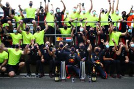 Verstappen Wins as F1 Celebrate 70th Anniversary