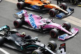 'Pink Mercedes' penalty sets paddock on fire