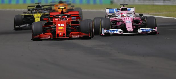 Ferrari adds weight to 'pink Mercedes' controversy