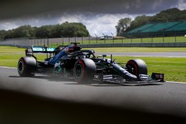 Second Free F1 Practice Results 70th Anniversary GP