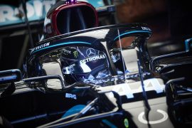 Third Free F1 Practice Results 70th Anniversary GP