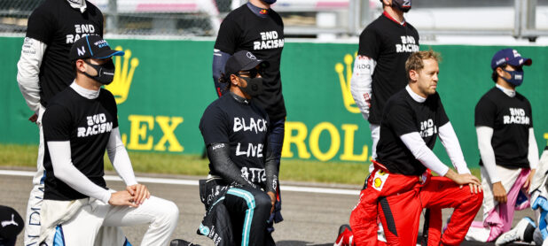 Ecclestone criticises Hamilton's political activism