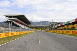 F1 Starting Grid 2020 Tuscan GP
