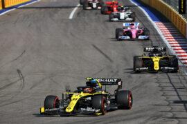 Animated Timelapse 2020 Russain Grand Prix