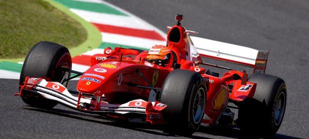 F2004 Onboard of Mick Schumacher at Mugello