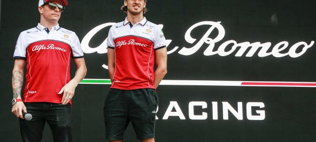 Giovinazzi says Raikkonen still one of the best drivers in F1