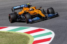 McLaren test Mercedes-like nose at Mugello