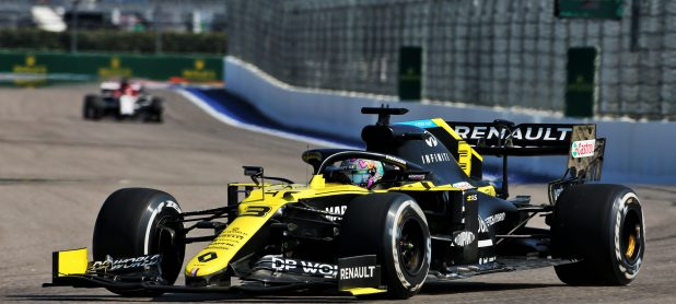 First Free F1 Practice Results Russian F1 GP (FP1)