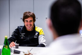 Alonso sure Abiteboul is already starting to get tired of him
