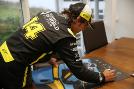 Renault hopes FIA allows 'young driver' test for Alonso