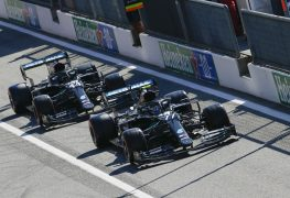 Mercedes party goes on without 'party mode'