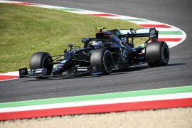 Second Free F1 Practice Results 2020 Tuscan GP