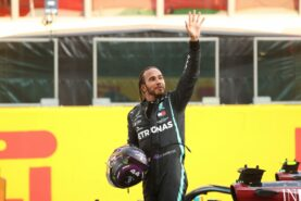 Mercedes says Hamilton contract rumours are 'pure fiction'