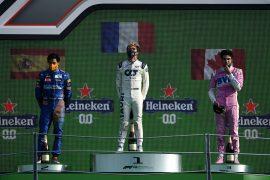 2020 Italian Grand Prix Results