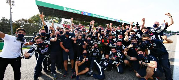 Post-Race Celebrations at Monza | Powered By Honda