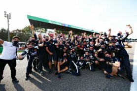 Post-Race Celebrations at Monza   Powered By Honda