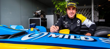 Alonso set to test Renault in 2020