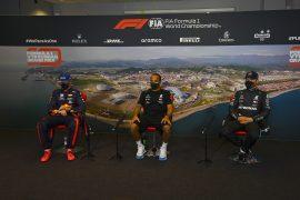 Post-Quali Press Conference 2020 Russian F1 GP