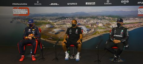 Post-Quali Press Conference 2020 Russian F1 GP
