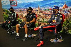 Quali Press Conference 2020 Tuscan F1 GP
