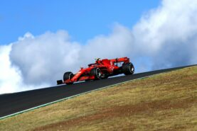 Vettel admits Leclerc 'in different league'