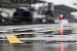 Carey 'doesn't care' about Nurburgring weather