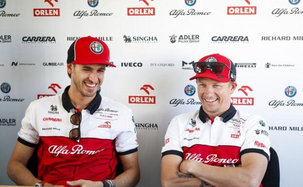 Alfa Romeo confirms Raikkonen & Giovinazzi for 2021